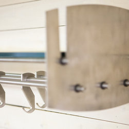 The Hub Shelf - Brushed Stainless Steel -