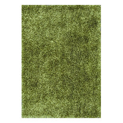 Loloi Rugs - Loloi Rugs Carrera Green Hand Tufted Shag Rug X-670500RG10-GCRRAC - Hand-tufted of 100-percent polyester, the Carrera Shag Collection will infuse your home with equal parts retro style and cozy comfort. Awash with trending-now colors like moss green, cocoa brown, steel,blue-mocha, charcoal, cinnamon and spice, classic shades include rich red, beige and clean ivory. For that instant update to any room, highly textured Carrera Shags will ground your home with style.