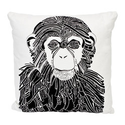 Chimp Decorative Throw Pillow