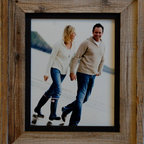 MyBarnwoodFrames - 11x14 Barnwood Picture Frame Heritage Rustic Frame with Black Inset  S - The  heritage  style  barnwood  picture  frame  is  a  great  selection  if  you  are  framing  black  and  white  photos,  old  newspaper  clippings,  or  artwork  that  needs  a  little  bit  of  color  separation  between  the  art  and  the  rustic  wood  frame.  Perfect  for  cowboy  or  western  photos,  and  also  for  beach  or  nautical  themes,  family  portraits,  colorful  needlework  samples,  and  much  more,  this  neutral-colored  frame  works  well  with  a  host  of  different  art  and  photo  styles.          Product  Details:                  Picture  opening  11x14,  Finished  product  is  approximately  17x20              Barn  wood  is  authentic  reclaimed  wood              Inset  is  crafted  from  stained  alder  wood              Rustic  wood  and  reclaimed  barnwood  picture  frame              Sawtooth  hanging  hardware  included              Glass  and  cardboard  backing  included              Handcrafted  in  USA              Hangs  horizontally  or  vertically