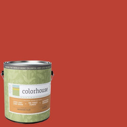 Inspired Flat Interior Paint, Petal .06, Gallon - Colorhouse paints are zero VOC, low-odor, Green Wise Gold certified and have superior coverage and durability. Our artist-crafted colors are designed to be easy backdrops for living. Colorhouse paints are 100% acrylic with no VOCs (volatile organic compounds), no toxic fumes/HAPs-free, no reproductive toxins, and no chemical solvents.