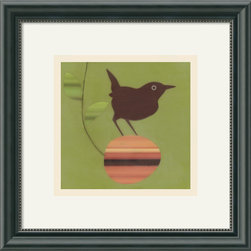 Amanti Art - You Can Have this One Framed Print by Amy Ruppel - This little bird will add whimsy and personality to any room in your home. The bold color palette used by artist Amy Ruppel will complement your modern aesthetic beautifully.