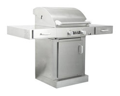 TEC - TEC Sterling G2000 FR Infrared Grill on Cabinet | LP - G2LPFRCB - TEC Gas Grills Sterling G2000 FR Infrared Propane Gas Grill On Cabinet * 100 Percent Infrared Energy