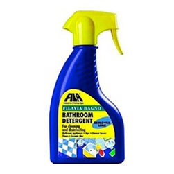 Filavia Bagno - Bathroom Detergent Glass Tile - Get down and dirty with this bathroom detergent created specifically for use on bathroom tiles. It removes lime deposits and returns a surface shine, and is so effective you won't even have to rinse it off. It's also suitable for use on stainless steel.