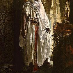 TOPofART - The Moorish Chief | Eduard Charlemont | Painting Reproduction | TOPofART.com - Eduard Charlemont - The Moorish Chief, 1878 - Hand-Painted Oil Painting Reproduction.