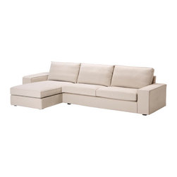Ola Wihlborg - KIVIK Sofa and chaise lounge - Sofa and chaise lounge, Ingebo light beige