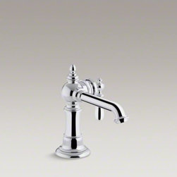 KOHLER - KOHLER Artifacts(TM) single-handle bathroom sink faucet - Create a look all your own with the Artifacts collection. Timeless and classic in its inspiration, Artifacts allows you to coordinate faucets, accessories, showering, and finishes to express your personal style. Artifacts faucets combine quality craftsman