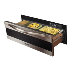 """Dacor Renaissance 30"""" Warming Drawer, Stainless Trim W/ Black Glass 