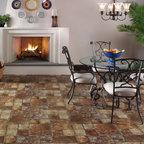 Sobella Omni HD fiberglass core, vinyl sheet flooring from Mannington -