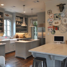 Martha Stewart's Gray Kitchen | Atticmag | Kitchens, Bathrooms, Interior Design