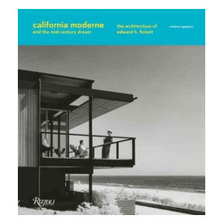 Rizzoli International Publications - California Moderne & the Mid-Century Dream:The Architecture of Edward H. Fickett - A dazzling presentation of the mid-century modern California style, offering a fresh perspective on the work of one of the most influential yet widely unknown figures of American design. The mid-century houses of architect Edward H. Fickett were ubiquitous during their time and are coveted today. They have always demonstrated a deep understanding of the use of indigenous, cost-efficient materials and the integration of interior space with Southern California's Mediterranean climate. These ingredients, plus Fickett's creativity and visionary ideas, added up to perhaps the single most impressive brand of mid-twentieth-century American architecture and design, with a powerful commercial angle: his 'affordable yet palatial' homes, as they were advertised, appreciated in value in a manner that could not help but please homeowners and real estate professionals. Fickett's innovative designs were profoundly in sync with Los Angeles's ascendance from second city into one of the world's great metropolises, with innovative postwar tract houses, glamorous garden apartments in Hollywood in the 1950s, and ambitious houses in Beverly Hills, Brentwood, and Malibu spanning from the end of the 1950s through the 1970s. This book chronicles the development of these houses in detail and through generous black-and-white and full-color photography. The result is a portrait not only of a beloved architect's enduring work, but also of a place and time that continue to capture the imagination.
