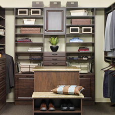 Modern Clothes And Shoes Organizers by More Space Place