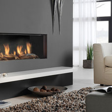 Contemporary Indoor Fireplaces by Fires2u.com
