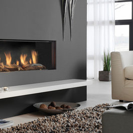 Modern gas fireplaces prices for Modern gas fireplace price