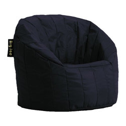 Comfort Research - Big Joe Lumin Bean Bag Lounger - The Big Joe Lumin Chair envelopes you in ultimate comfort. The back and arm rests provide soft but firm support. This chair is great for any room in the house. Features: -Big Joe collection. -Slate or Black color. -Filled with ultimax beans that conform to you. -Tough stain resistant smartmax fabric. -Double stitched and double zippers. -Made in the USA. -Manufacturer provides 30 day repair or replace warranty against manufacturing defects.