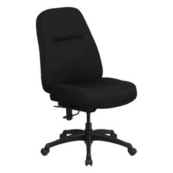 Flash Furniture - Flash Furniture Hercules Series 400 lb. Capacity High Back Office Chair - This chair has been tested to hold up to 400 lbs.! Not only will this chair hold the above average person, but it is amazingly comfortable. Chair will appeal for users of all heights and weights because of its comfort and sturdy construction.