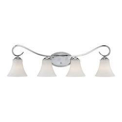 Millennium Lighting - Millennium Lighting 284 Fair Lane 4 Light Bathroom Vanity Light - Features: