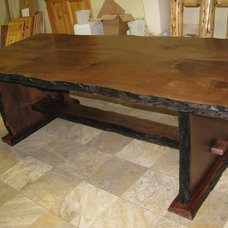 Rustic Dining Tables by Perry Creek Woodworking, Inc.