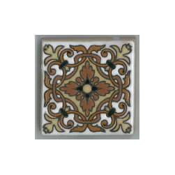 Handpainted Ceramic Old California Mission Tile Collection - Item CA06
