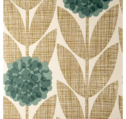 Eclectic Wallpaper by Orla Kiely