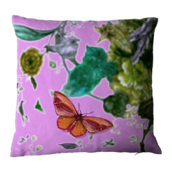 Butterfly Blurr Pillow