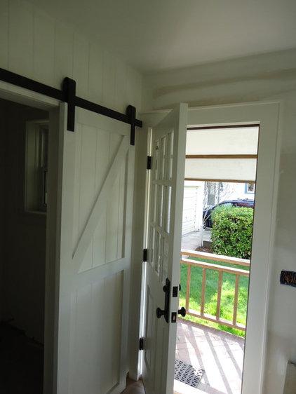 Powder Room Barn Door for the powder room