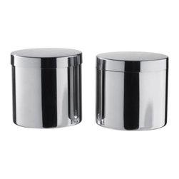 Richard Clack - SÄVERN Jar with lid, set of 2 - Jar with lid, set of 2, stainless steel