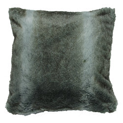 Chinchilla Faux Fur Pillow - At Urban Barn we offer a stunning array of contemporary furniture, home decor and accessories that will look right at home in your place, for years to come.  By shaking up a winning cocktail of great design, quality and value with liberal splashes of fun, we've become a true favourite of the style conscious shopper.