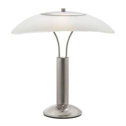 Dainolite - Dainolite DM217-SC Decorative 2 Light Table Lamp - Features: