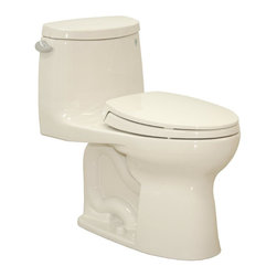 TOTO - TOTO UltraMax II Toilet with Sanagloss, Sedona Beige (MS604114CEFG#12) - TOTO MS604114CEFG#12 UltraMax II Toilet with Sanagloss, Sedona Beige