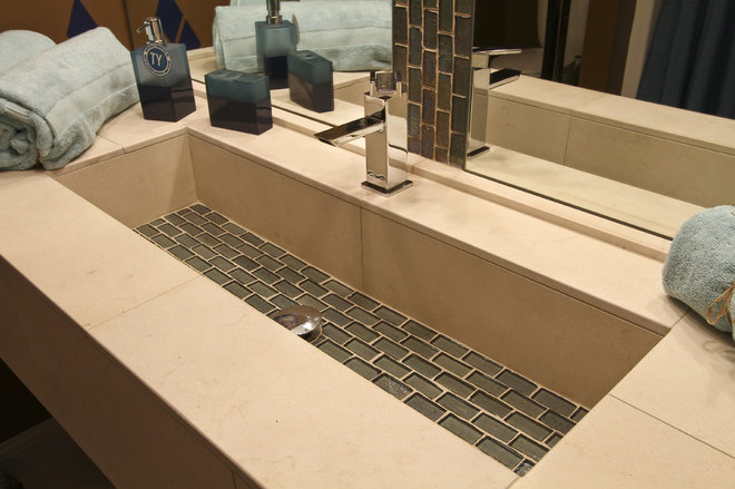 Contemporary Bathroom Sinks by Architectural Justice