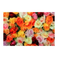 TONY GRIDER - Bed Of Roses Fine Art Poster Print, 24 X 31.5 - Museum quality prints delivered to your door.