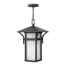 Hinkley Lighting - Hinkley Lighting 2572SK-GU24 Harbor Satin Black Outdoor Lantern - Hinkley Lighting 2572SK-GU24 Harbor Satin Black Outdoor Lantern