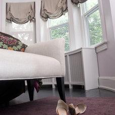Transitional Bedroom by Zoe Feldman Design, Inc.