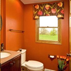 Traditional Bathroom by Carmel Builders