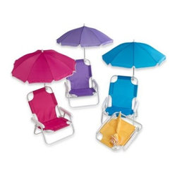 W.c. Redmon - Baby Beach Chair with Umbrella - Kids will love taking their very own chair to the beach, camping, picnics and family outings.