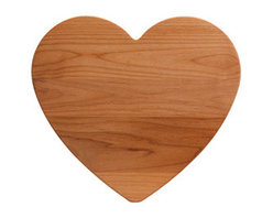 Heart Wood Board - This cutting board is so sweet. It's a perfect decorative piece to have in the kitchen on display.