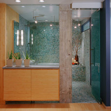 Contemporary Bathroom by Statements Tile