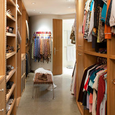 Midcentury Closet by Mary Anne Smiley Interiors