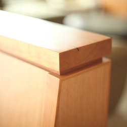 Lafayette Residence - Built-in nook bench detail