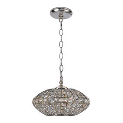Crystorama - Crystorama 343-SA Solstice 3 Light Mini Chandeliers in Antique Silver - Lighting is often described as jewelry for the home. Crystorama makes good on the metaphor with its newest collection of chandeliers. We have taken the warm glow in the golden square crystal shade and placed it inside the antique silver metal work, creating a sophisticated illuminating decor.