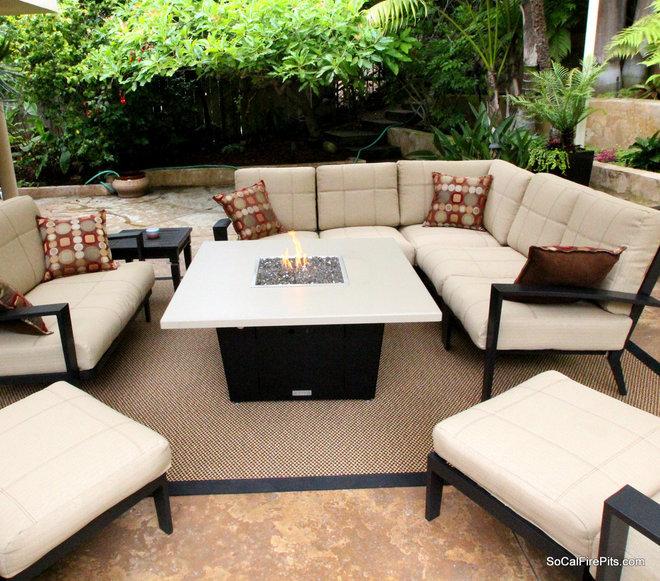 Modern Deck by Cooke Furniture