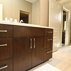 Bathroom Vanities And Sink Consoles by Venuti Woodworking