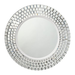 Kichler Lighting - Kichler Lighting 78167 Modern / Contemporary Mirror - This unique Glimmer mirror will make a distinctive impact in your home. Featuring angular details with a Clear finish, this design is sure to create a bold statement in any space.