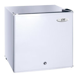 Sunpentown - Sunpentown UF-150W 1.1cu.ft. Upright Freezer - White - UF-150W - Shop for Freezers from Hayneedle.com! Calling the Sunpentown UF-150W 1.1cu.ft. Upright Freezer - White an icebox might be quaint but we couldn't think of a better way to describe this compact freezer. The flush-back design and reversible door lets you fit this pint-sized freezer almost anywhere a little refrigeration is needed. A sleek white front covers a roomy interior with a removable wire shelf and adjustable temperature control that lets you go from 0 to 32 degrees at the turn of a knob. A lock and key keeps the door secure so you always know that your fine freezables are safe.About SunpentownSunpentown International designs and manufactures small home appliances for convenient kitchen use. Sunpentown is the largest single producer of induction cooktops in the world controlling over 70% of the domestic market. Aiming to stay at the forefront of induction technology Sunpentown is proud to introduce a new line of uniquely competitive built-in and Wok induction cooktops to appeal to the increasingly global market of the 21st century.