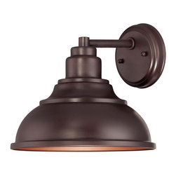 Savoy House - Savoy House-5-5631-DS-13-Dunston - One Light Outdoor Wall Lantern - Inspired by vintage designs, this Dark Sky rated outdoor light has clean lines and an English Bronze finish.