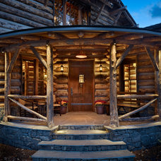 Rustic  by MILLER ARCHITECTS PC