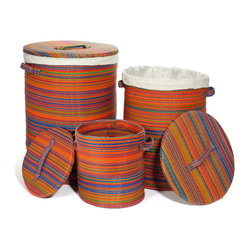 Cancun Baskets, Multicolor