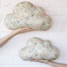 Eclectic Decorative Pillows by Mini Bulles