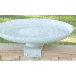 Allied Precision - Kozy Bird Spa-Heated Bird Bath - Heated Kozy Bird Spa with Deck Mount: 150 Watts Bowl diameter is 17.5 inches and the depth of the bowl is 2.5 inches.